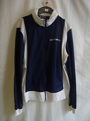 "Boys Cardigan - Polo Jeans, Ralph Lauren, size S, 32"" chest, navy/cream - 8052"