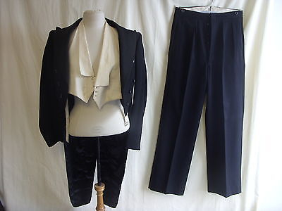 "Mens Master of Ceremony Jacket & Trousers, Burtons, vintage, 36"" chest/28""W 7201"