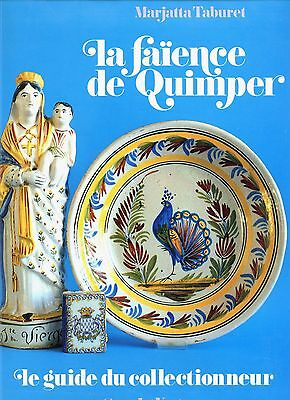 French Quimper Pottery Marks Types Dates / In-Depth Over-Size Book (French Text)
