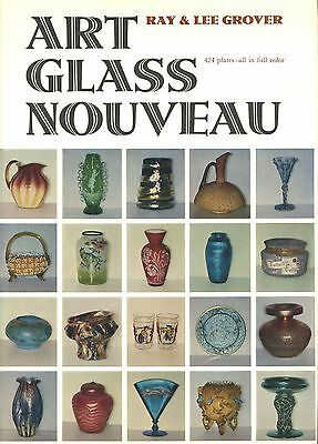 Art Nouveau Glass - American British French Bohemian Etc - Types Makers / Book