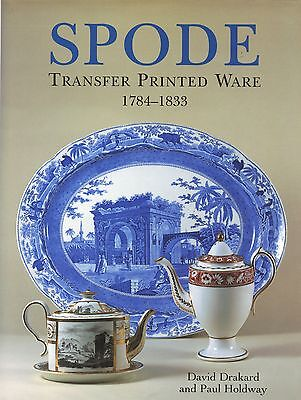 Spode Transfer Printed China - Types Patterns Marks Dates (900+ Photos) / Book