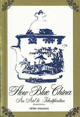 Antique Flow Blue China 500+ Patterns - Ridgway Wood Meakin Etc. / Scarce Book