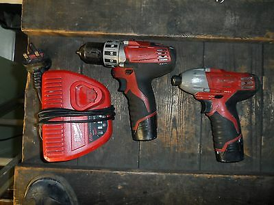 Milwaukee 12V Drill And Impact Driver