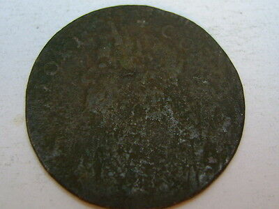 1786 Connecticut Copper Post-Colonial Coin