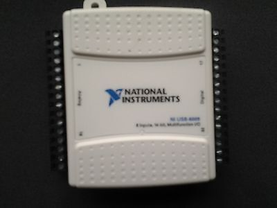 QTY - 2, National Instruments USB-6009 Data Acquisition Devices, NI DAQ