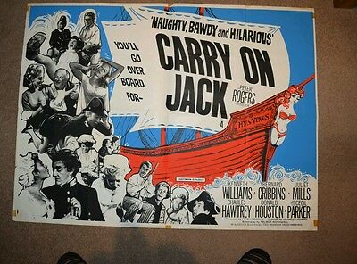 Carry on Jack UK Quad 1963