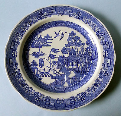 Spode Blue Room Collection Willow Plate