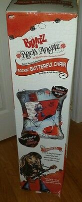 "Bratz Rock Angelz Rockin Butterfly Chair New in Box MGA 29.5"" High NIB Collector"