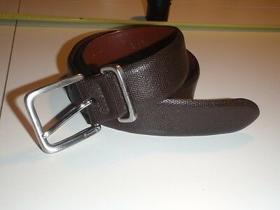 Coach Brown Leather Tone Belt - 5949 - Size 34 Or 36