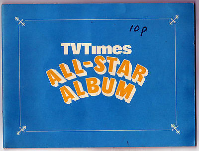 Vintage c1968 - TV TIMES ALL-STAR ALBUM - Incomplete