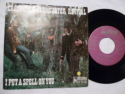 """7"""" Creedence Clearwater Revival (CCR) - I Put A Spell On You / Walk On The Water"""
