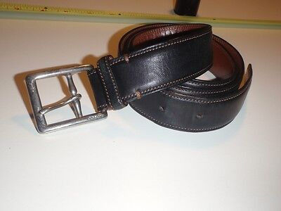 Coach Brown Tone Leather Belt - 3752 - Calf Skin Leather - Mens?  -  Size 34