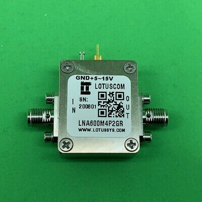 Amplifier LNA Module 600MHz to 4200MHz with Ultra Low Noise and 2dB Flat Gain