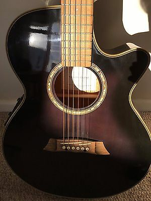 Takamine G Series Electro-acoustic guitar EG560C with free stand and new strings