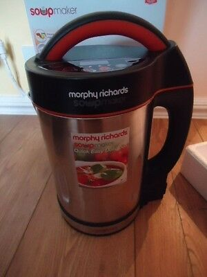 Morphy Richards~~Soup Maker~~1.6 ltr Capacity~~New in Box~~
