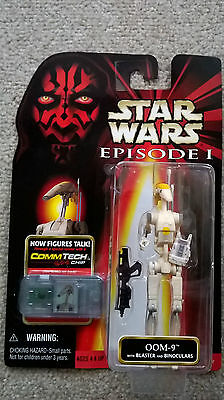 Stars Wars Action Figure OOM-9 episode 1 +CommTech Chip BOXED