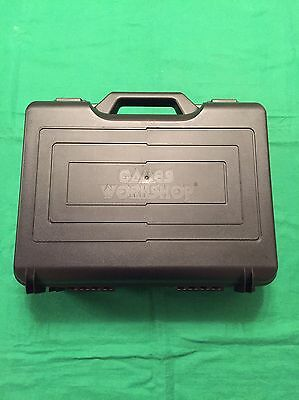 """Warhammer / AOS / Role-Playing Games Workshop Figure Case: 14"""" X 10"""" Black"""