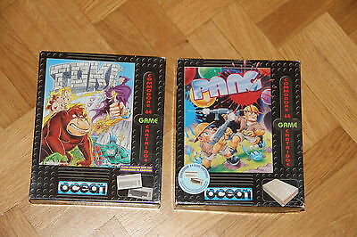 COMMODORE 64 C64 CARTRIDGE TOKI und PANG in OVP! TOP!
