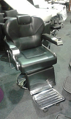 Hairdressing Barber's Chair, Hydraulic, Reclining, 50kgs, Med Weight, Ex Display