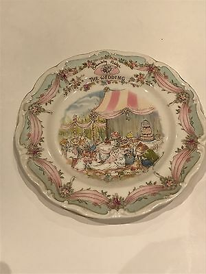 Royal Doulton - Brambly Hedge - The Wedding Plate