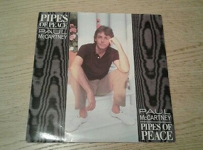 """Paul McCartney - Pipes Of Peace - 7"""" vinyl single - picture sleeve"""