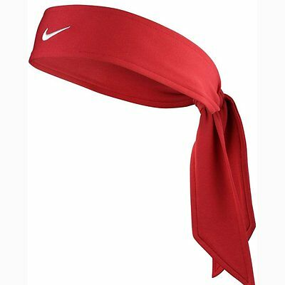 AWESOME Nike Dri-Fit Head Tie / Fitness head band 2.0 (Red) f/working out