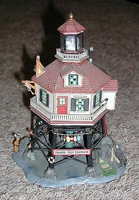 Dept 56 New England Heritage Village Breakers Point Lighthouse 56.56576 AS IS