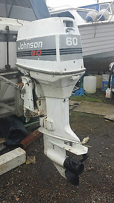 Johnson 60HP Outboard Engine