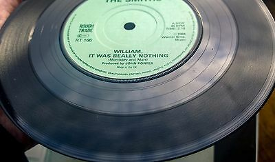 The Smiths William, It was really nothing. Irish pressing solid centre 7 inch