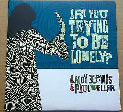 Paul Weller and Andy Lewis 'Are You Trying To Be Lonely?' blue vinyl