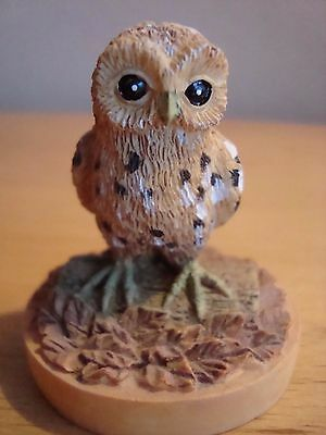 Collectable 1997 Tetley Barn Owl Bird Ornament