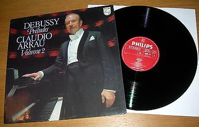 DEBUSSY - PRÉLUDES VOLUME 2 LP - Claudio Arrau - Philips 9500 747
