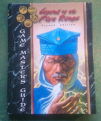Legend of the Five Rings RPG 2nd Edition Game Masters Guide | L5R | HC | AEG3102