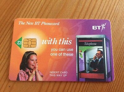 Collectable BT Phone Card The New BT Phonecard
