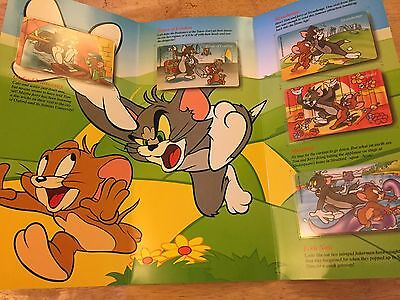 Collectable Phonecards. Collectable Card In Folder. Tom And Jerry