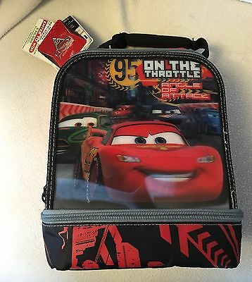 Disney Pixar lightning mcqueen lunch bag New With Tag!