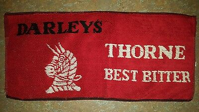 Darley's Ales Beer Towel/..very Rare Collectable...new.....