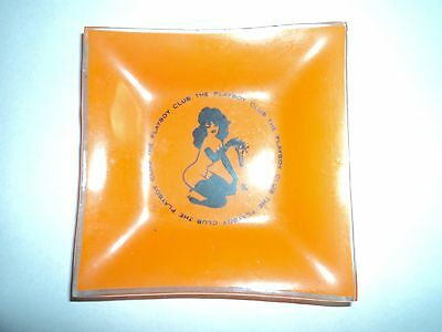 Retro Glass Ashtray The Playboy Club 3 7/8''