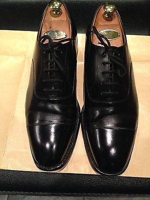 "Church's ""consul"" Black shoes size 8 G in excellent used condition"