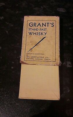 Rare Grants Stand Fast Whisky Playing Cards
