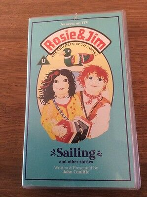 Rosie & Jim - Sailing and other stories VHS Video