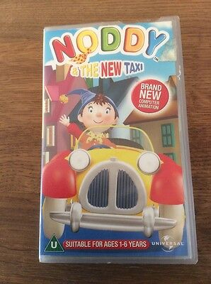 Noddy and the New Taxi VHS video