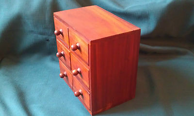 A Charming Handy Wooden Mini Chest of Drawers