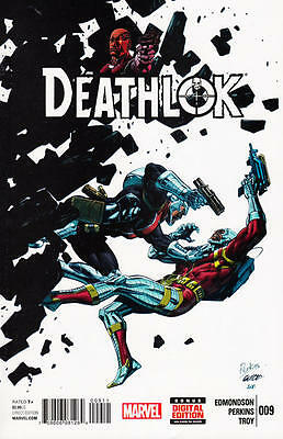 Deathlok #9 Comic Shield Domino