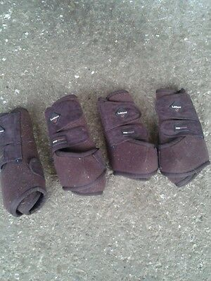 Le Mieux Brown Pro Sport support Boots Set of 4
