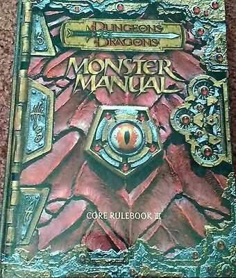 Dungeons and Dragons Monster Manual, Core Rulebook III