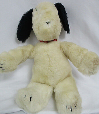 "Rare Vintage 1968 Snoopy with Red Collar 16"" Peanuts Gang by Applause"