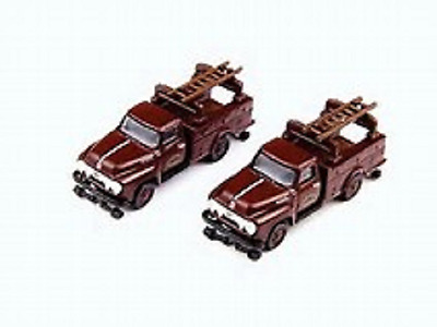 Utility Trucks, pair - N scale - Pennsylvania RR