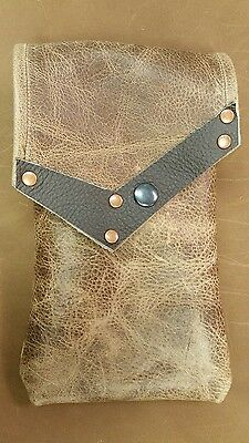 medieval leather pouch