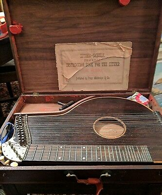 Antique Zither-Schule Franz Waldecker & Co